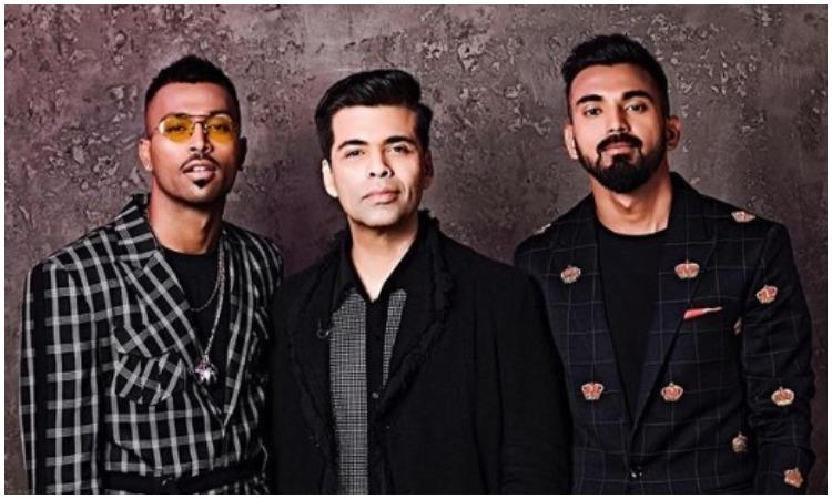Hardik pandya, karan johar and KL Rahul- India TV Hindi