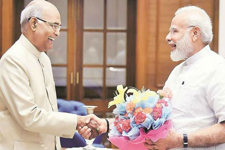 President Ramnath Kovind and PM Narendra Modi- India TV Hindi