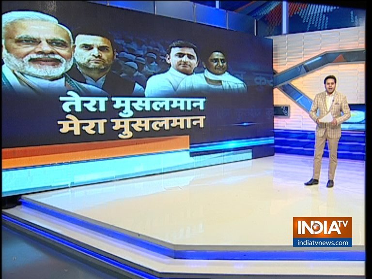 India TV CNX Opinion Poll on Muslim voters of Uttar...- India TV Hindi