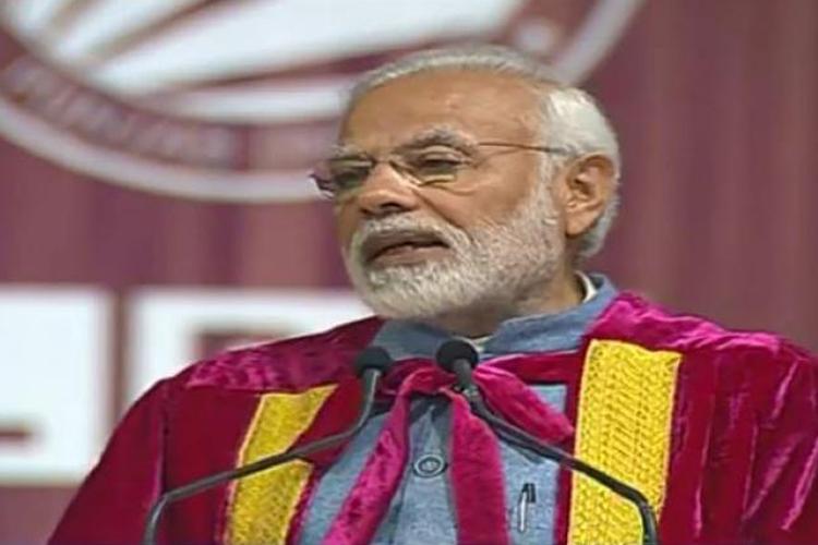 PM मोदी ने जय जवान, जय किसान, जय विज्ञान में 'जय अनुसंधान' जोड़ा - India TV Hindi