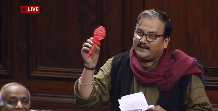 RJD's Manoj Kumar Jha show rattle in Rajya Sabha and opposes Constitution amendment - India TV Hindi