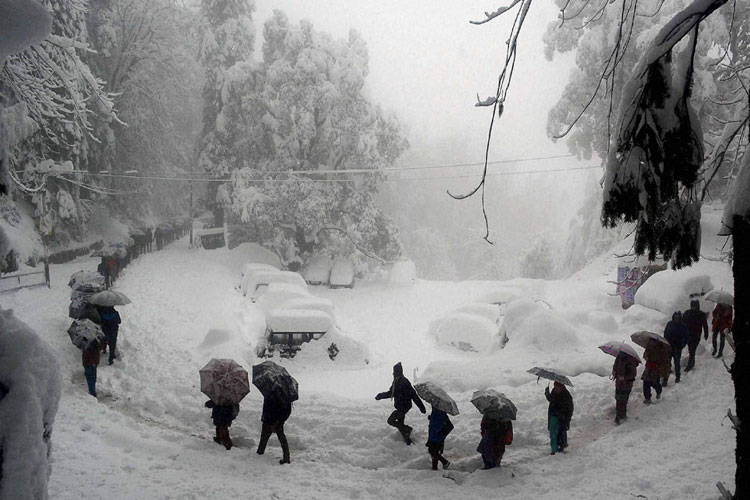 Cold wave continues in Kashmir, Dras freezes at minus 31.4 degree Celsius- India TV Hindi