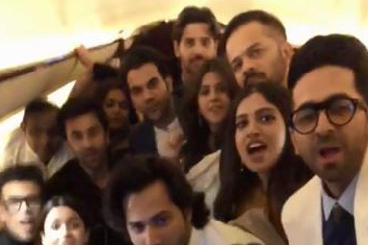 Ranbir Kapoor Alia Bhatt Ranveer Singh and many more stars promte Vicky Kaushal Uri watch video- India TV Hindi
