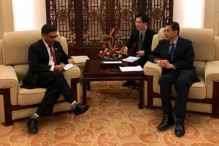 Vikram Misri takes charge as India's new envoy to China | Facebook- India TV Hindi