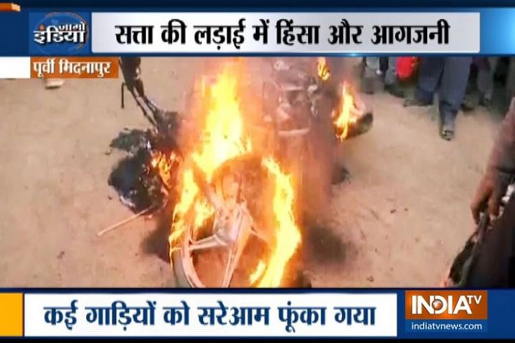 Lok Sabha Polls 2019: Political temperature soars in West Bengal post Amit Shah's Midnapore rally- India TV Hindi