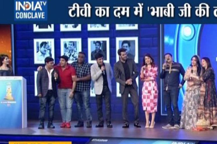 TV Ka Dum Bhabhi Ji Ghar Par Hai star cast talks about comedy shows- India TV Hindi