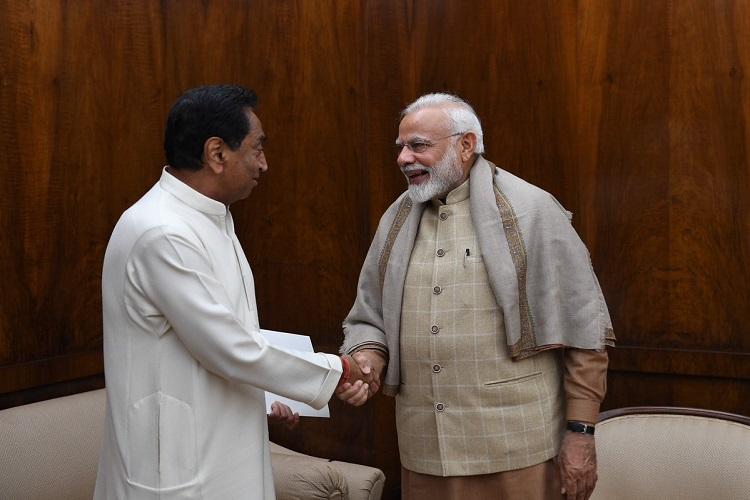 PM modi and kamalnath- India TV Hindi