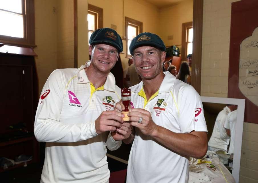 ऐशेज सीरीज के लिए ऑस्ट्रेलियाई टीम का ऐलान, स्मिथ-वार्नर के साथ बेनक्राफ्ट को भी मिली टीम में जगह - India TV Hindi