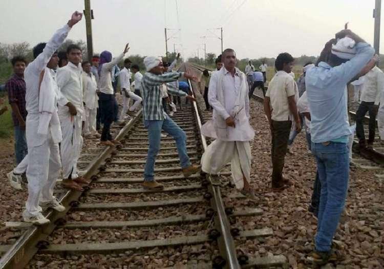 Gurjar Protest- India TV Hindi