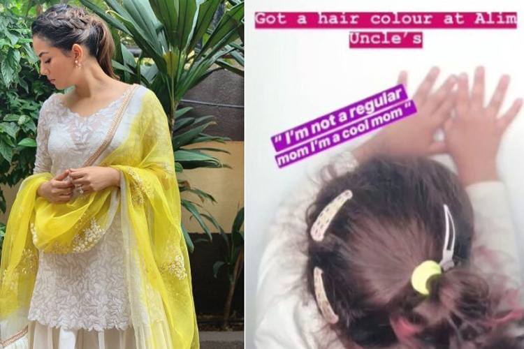 Mira Rajput reacts on trolls over colouring daughter Misha's hair- India TV Hindi