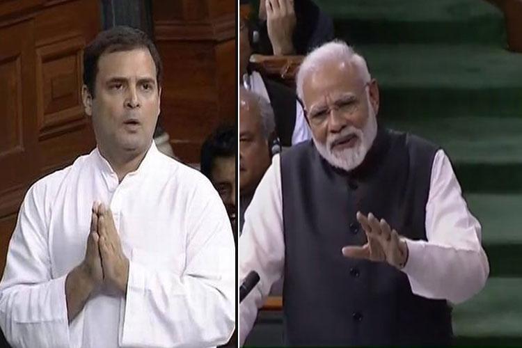rahul gandhi and pm narendra modi- India TV Hindi