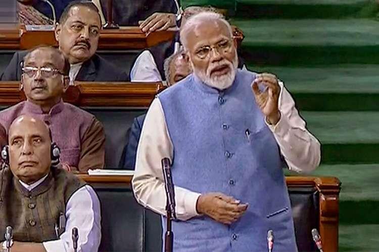 PM Narendra Modi Speech In Loksabha- India TV Hindi