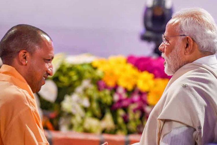 PM Narendra Modi and UP CM Yogi Adityanath | PTI File- India TV Hindi