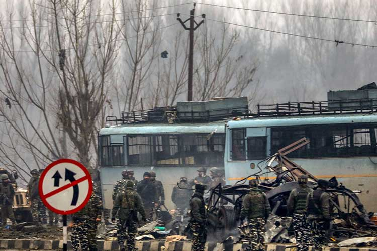 pulwama terror attack- India TV Hindi