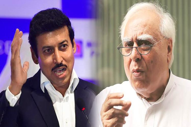 राज्यवर्धन राठौर का सिब्बल से सवाल, पूछा-सबूत तलाशने बालाकोट जाएंगे?- India TV Hindi
