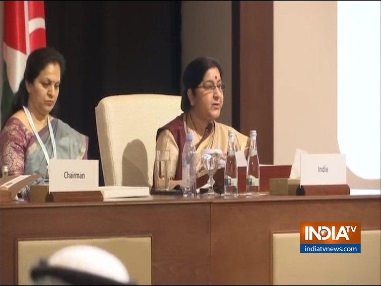 Sushma Swaraj at OIC- India TV Hindi