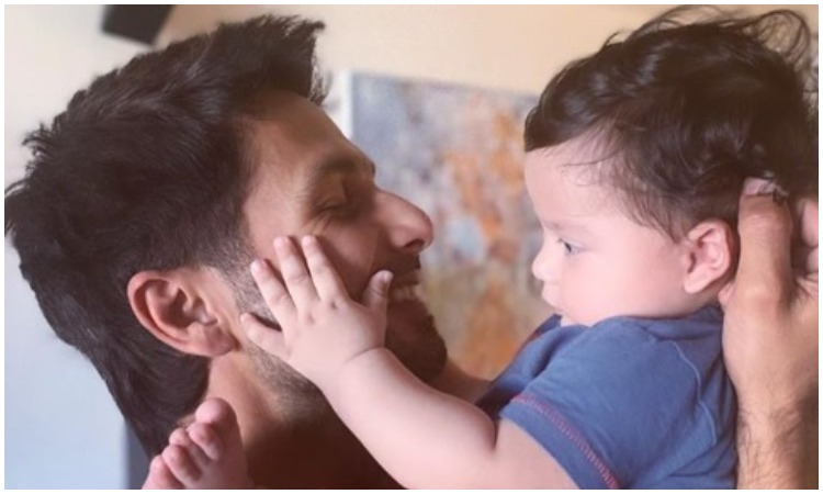 Shahid kapoor with his son zain- India TV Hindi