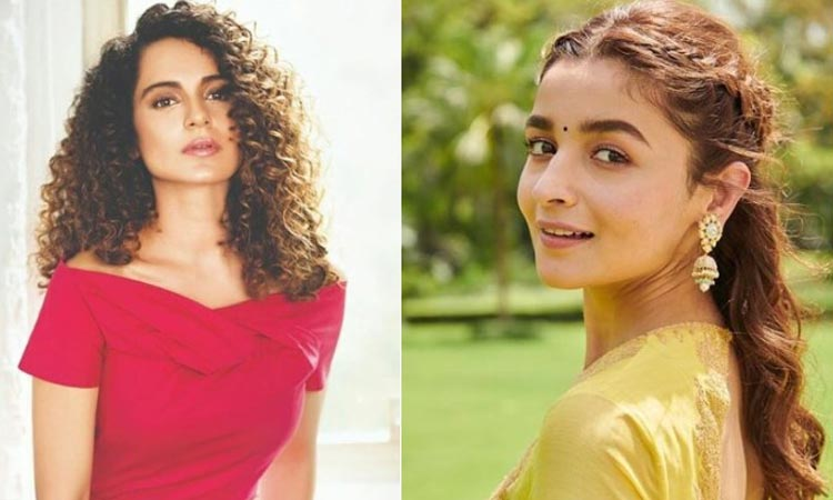 Alia Bhatt responds to Kangana Ranaut mediocre comment- India TV Hindi