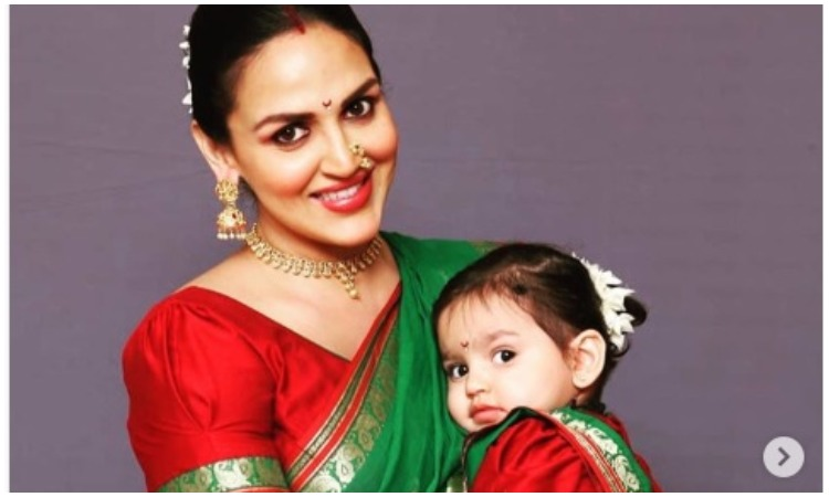 Esha deol with her daughter- India TV Hindi