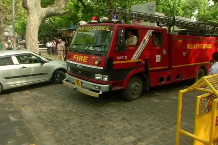 Fire breaks out at Shastri Bhawan New Delhi- India TV Hindi