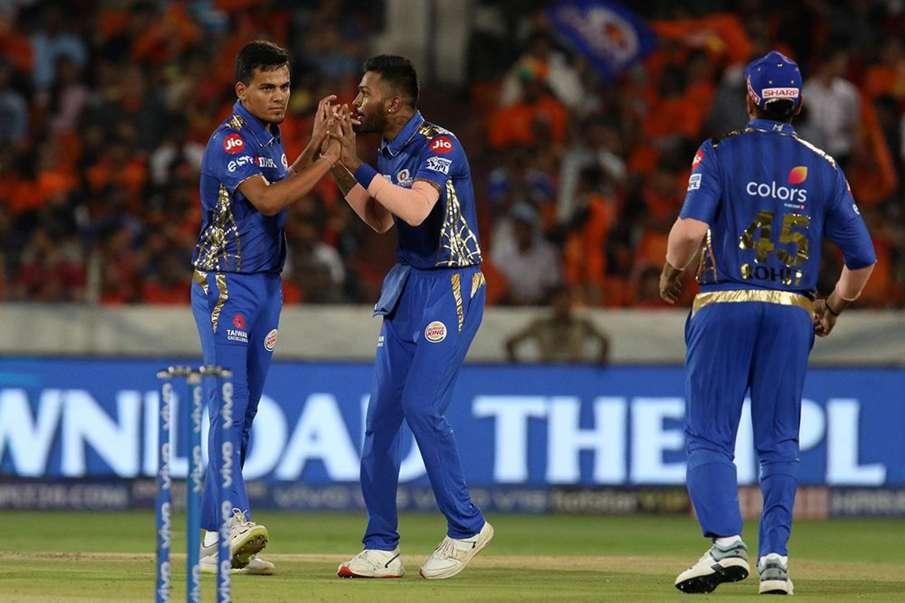 IPL 2019: धमाकेदार प्रदर्शन के बाद रोहित शर्मा ने बांधे युवा स्पिनर राहुल चाहर की तारीफों के पुल- India TV Hindi