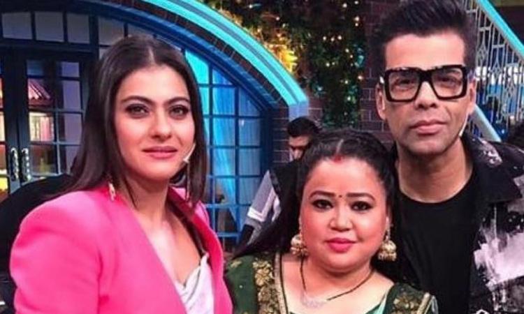 Kajol and Karan Johar shoot for The Kapil Sharma Show- India TV Hindi
