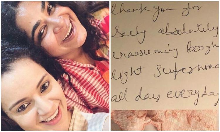 Kangana ranaut pens a note- India TV Hindi