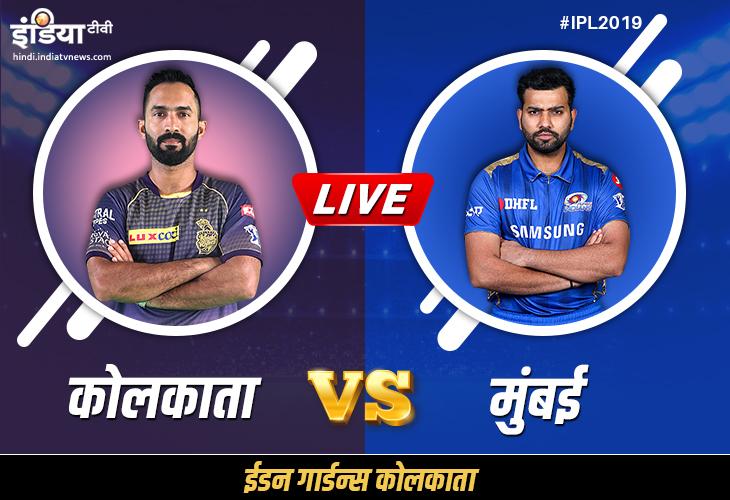 IPL 2019, KKR vs MI: Kolkata Knight Riders vs Mumbai Indians Match Preview, Points Table Impact And - India TV Hindi