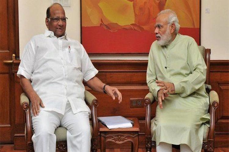 PM Modi targates Sharad Pawar in Wardha Rally - India TV Hindi