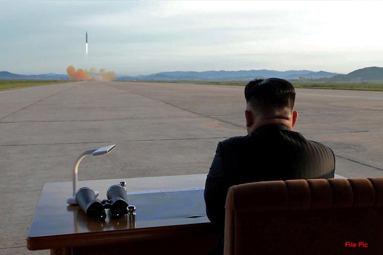 उत्तर कोरिया ने फिर किया नए शक्तिशाली आयुधों से युक्त हथियार का परीक्षण- India TV Hindi