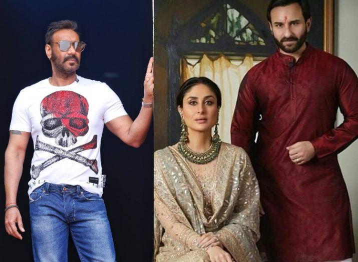 Ajay devgn, kareena kapoor nad saif ali khan- India TV Hindi