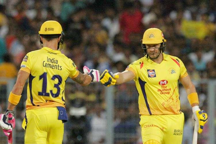 वाटसन ने तेजी से रन जुटाने के लिये मुझे शुक्रिया किया: डु प्लेसिस - India TV Hindi
