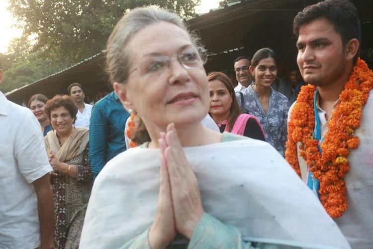 रायबरेली लोकसभा सीट के लिए आज नामांकन करेंगी सोनिया गांधी- India TV Hindi