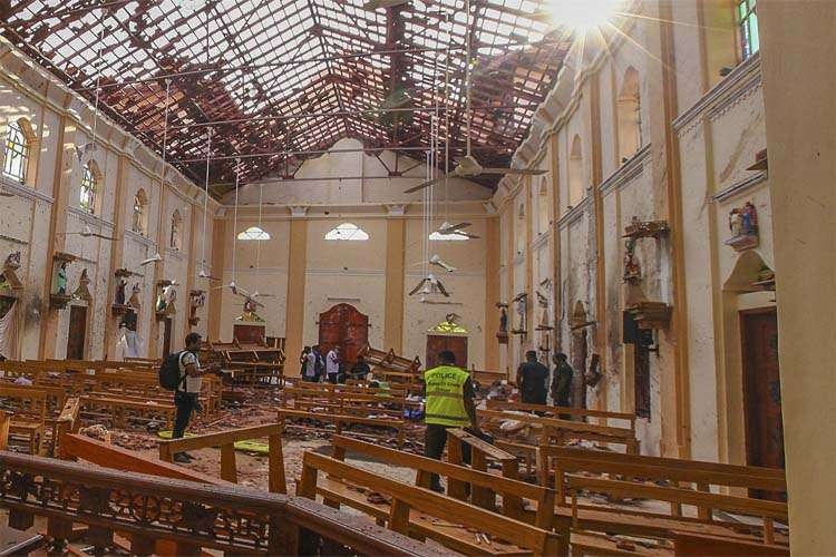 One of nine bombers was a woman which carry out Blasts in Sri Lanka - India TV Hindi