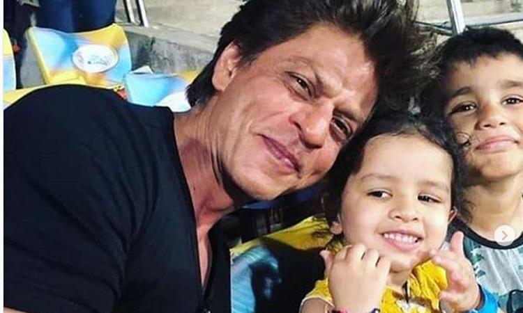 Shah Rukh Khan,  Ziva Dhoni- India TV Hindi