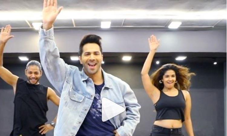 Harleen Sethi dances with Varun Dhawan on Kalank's song First Class - India TV Hindi