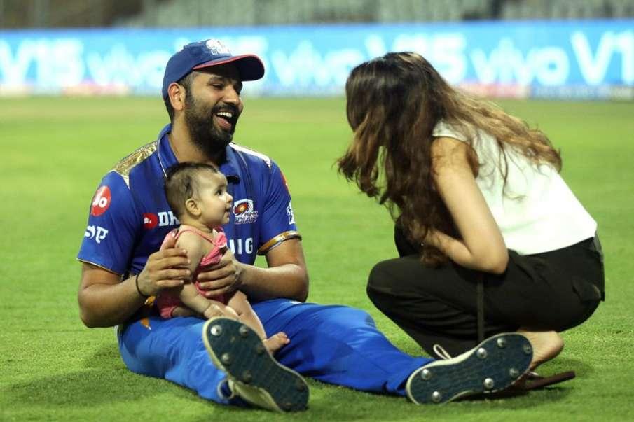 Rohit Sharma Dedicate his Half Century to daughter- India TV Hindi
