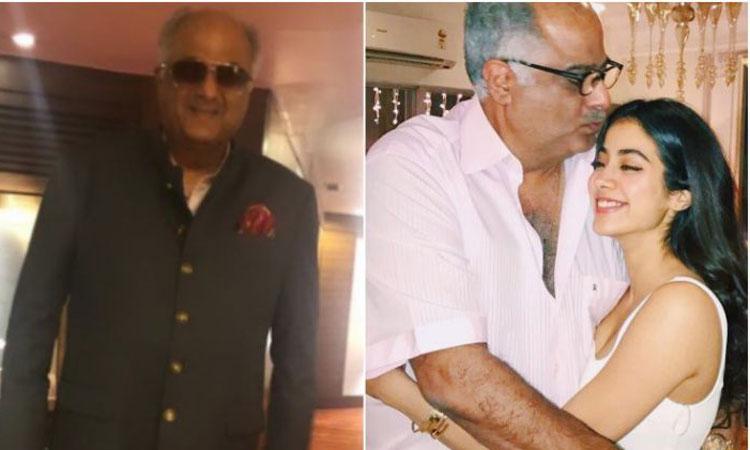 Boney Kapoor loses 12 kg, Janhvi proud of him- India TV Hindi