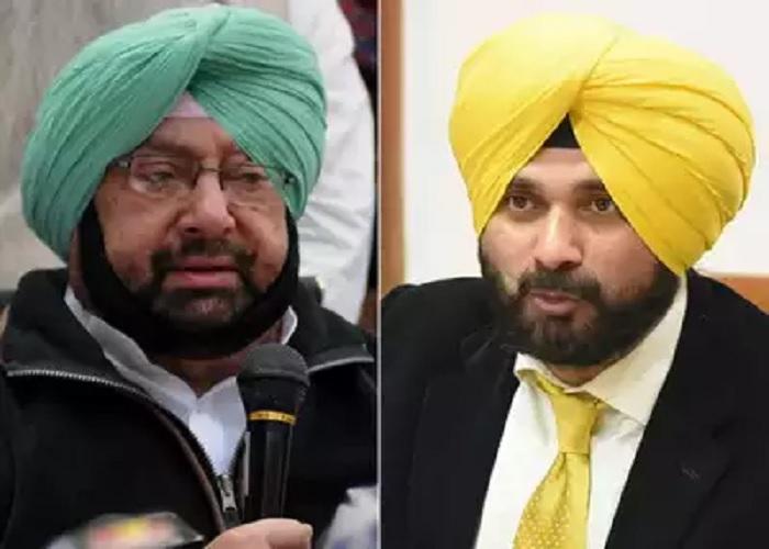 Captain Amrinder Singh vs Siddhu in punjab- India TV Hindi
