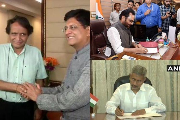 S Jaishankar, Piyush Goyal, Mukhtar Abbas Naqvi takes...- India TV Hindi