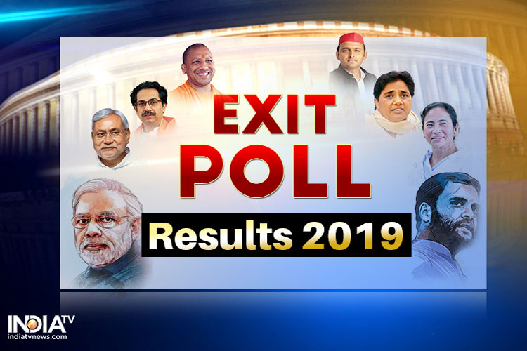 Exit poll results impact mood in party offices- India TV Hindi