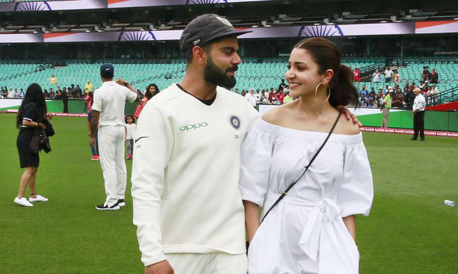 विराट कोहली और पत्नी अनुष्का शर्मा- India TV Hindi