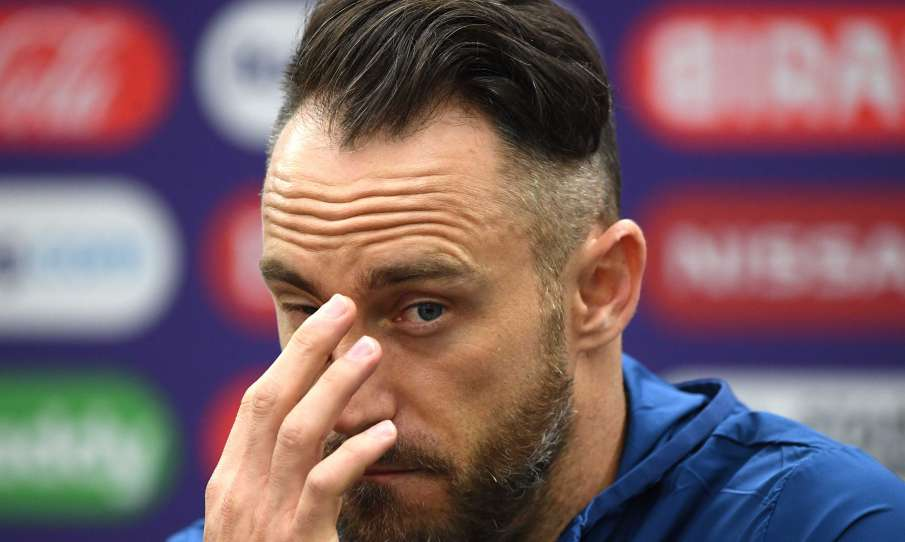 World Cup 2019: After being beaten by 104 runs faf du plessis said England defeated us in all three - India TV Hindi