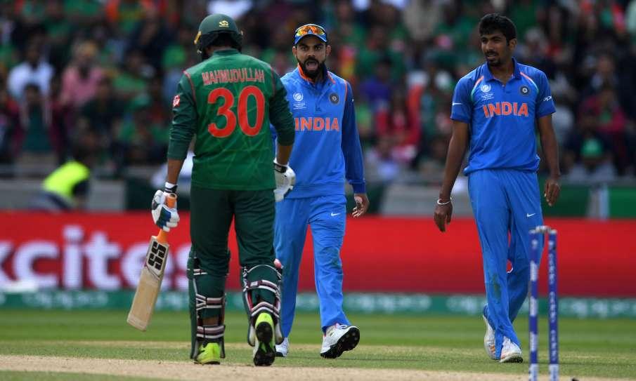 वर्ल्ड कप 2019 वार्मअप मैच इंडिया बनाम बांग्लादेश कार्डिफ में तीन बजे से खेला जायेगा।- India TV Hindi