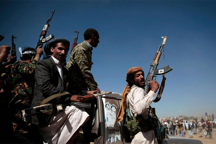 Houthi rebels of Yemen target Saudi Arabian city with drone | AP Representational- India TV Hindi