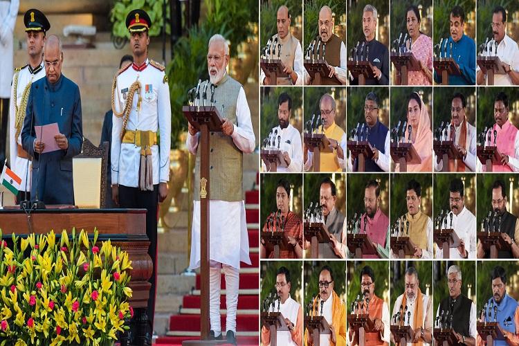 namo cabinet- India TV Hindi
