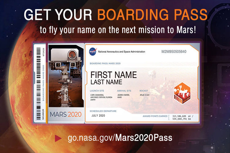 Send your name here to fly aboard NASA's next Mars rover in 2020- India TV Hindi
