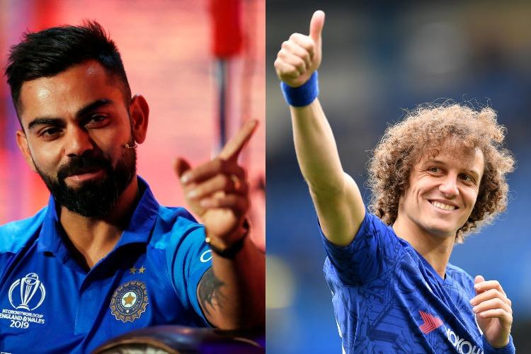ब्राजील के पूर्व कप्तान डेविड लुइज ने 'भाई' विराट कोहली को विश्व कप के लिए दी शुभकामनाएं- India TV Hindi