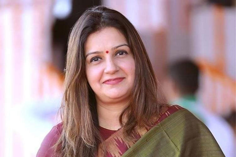 Priyanka Chaturvedi- India TV Hindi