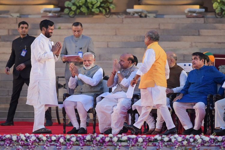 36 minister has take oath for second term while 20...- India TV Hindi